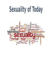 Sexuality of Today.pptx