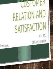 Customer Relation And Satisfaction.pptx