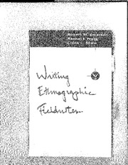 writing-ethnographic-fieldnotes