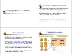 06  Sampling Distribution of the Mean