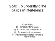 P219lecture20interference