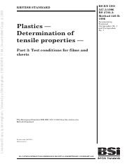 ISO 527 - Plastics Determination of Tenslie Properties - Part 3.pdf