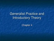 GeneralistPracticeandIntroductoryTheory