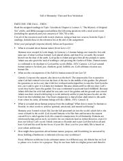 Fall of Humanity Then and Now Worksheet.docx