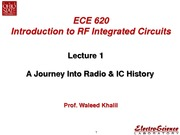 Lect1 -A Journey Into Radio & IC History