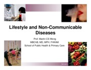 Week 11 Lifestyle and NCD