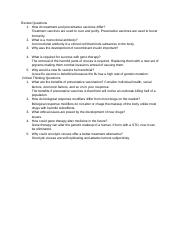 Biotechnology 1b text questions 6 Malta