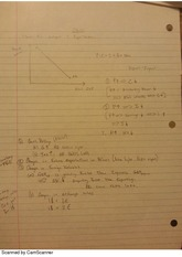 Short run output and equilibrium notes