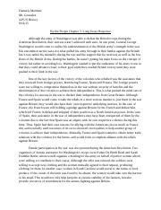 By the People Chapter 5 Long Essay