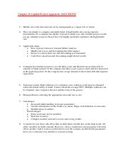 SOLUTIONS to Chapter 10 Capital Project Appraisal.pdf