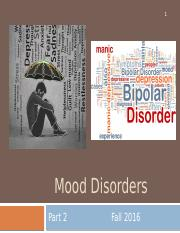 7.Mood Disorders Part 2, for students