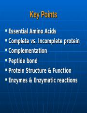 Lecture 13 - Proteins - Structure(1)