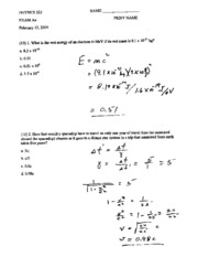 Solutions Exam A S 09