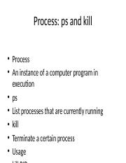 Process: ps and kill.pptx
