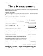 5. Time Mgmt Survey 012015.docx