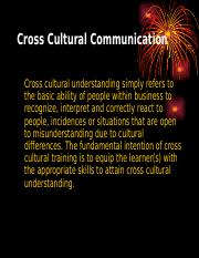 Cross cultural communication.ppt
