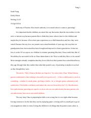 Writing 21-Essay 1-Version 1