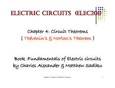 ELEC 201 - Chapter4-Thevenin's & Norton's Theorem.pdf