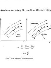 Acceleration Along Streamlines