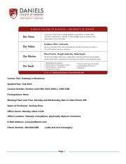 BUS 1000 Fall 2013 Syllabus.doc