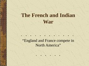 The French and Indian War-ALL