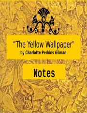 Analytical essay the yellow wallpaper