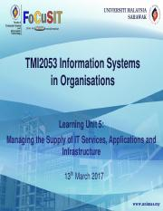TMI2053-SEM2-2016-17-_LU5_Managing_the_Supply_of_IT_Services_Applications_and_Infrastructure