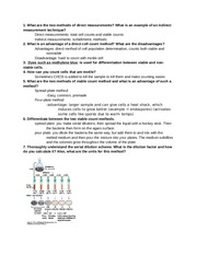 Microbiology Exam 3 Study Guide