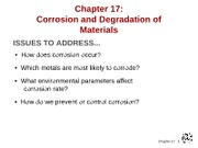 MATERIALS CHAPTER 17