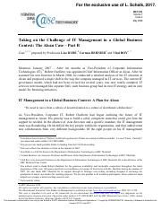 Taking on the Challenge of IT Management in a Glo bal Business Context: The Alcan Case – Part B.pdf