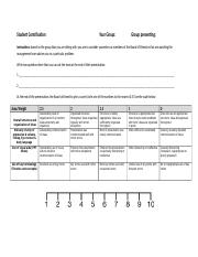 Marking guide for Presentation- Students.docx