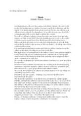 Coaching philosophy essay