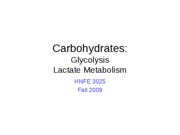 10 Carbohdrates - Glycolysis Lactate-1