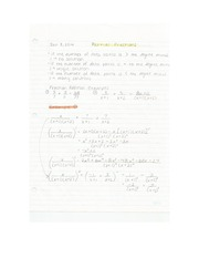 Applied Math - Partial Fractions Lecture Note