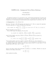 M115A-AssignmentSevenExtraSolutions
