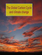 Geol122_CarbonCycleAndClimateCHange_notes