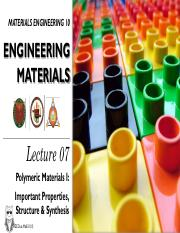 2nd Ed MatE 10 Lecture 7- Polymeric Materials I.pdf