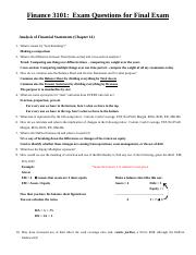 Exam Questions for Finance 3101 Students' Version 111819.doc