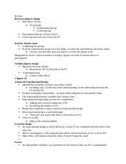 PSY 250 exam 2 lecture 3 .docx