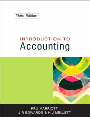 Introduction To Accounting  3Ed  2002  Pru Marriott