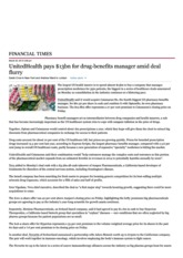 UnitedHealth pays $13bn ...id deal flurry - FT