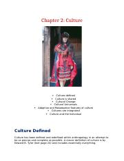 Chapter 2    Culture-3
