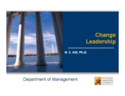 4.2. Class Slides - Change Leadership