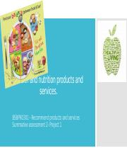 Health and nutrition products and services.pptx
