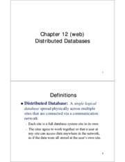 ch12-DistributedDatabases