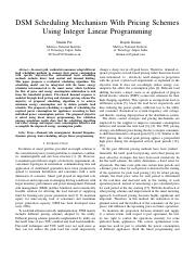 2016-shalini-DSM scheduling mechanism with pricing schemes using integer linear programming.pdf