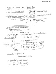 Lecture 30 - Ampere's Law