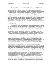 Research Project- Hiring and Selection System Process
