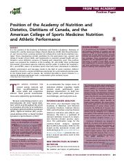 Week 2 - Sports Nutrition JAND Mar 2016.pdf