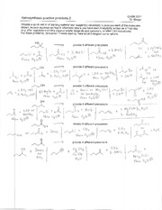 Retrosynthesis Problem Set 2 Solution